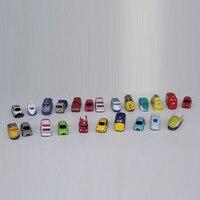 Livraison Gratuite Voitures Oeuf Mini PVC Action Figure Modèle Jouets Poupées de bande dessinée modèle de voiture 2.5-3 CM enfants cadeaux (ne peut pas déplacer)