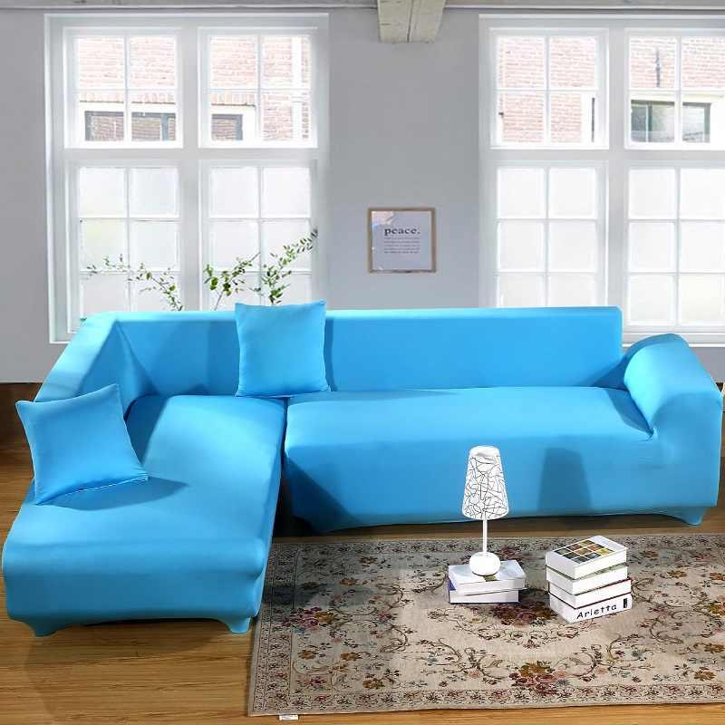 WLIARLEO Sólido Tampa Do Sofá Vermelho com Tudo incluído Slipcover Sofá Trecho Com Grande Elástico sofá Capas Para Sofá de Três assento tampa