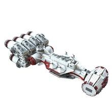 05046 LEPIN STAR WARS Tantive IV Rebel Model Building Blocks Classic Enlighten DIY Figure Toys For Children Compatible Legoe