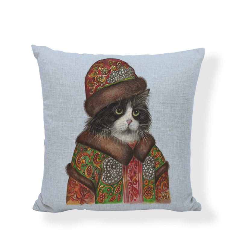 Creative Cartoon Animal Dogs Tiger High Quality Wedding Gifts Cushion Covers Baby Room Print Couch Party Decorative Pillow Cases