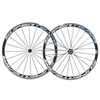 Alloy Braking Surface 38mm Carbon Wheel 23mm Width Clincher Carbon Wheelset Road Bike Aluminium Brake Surface