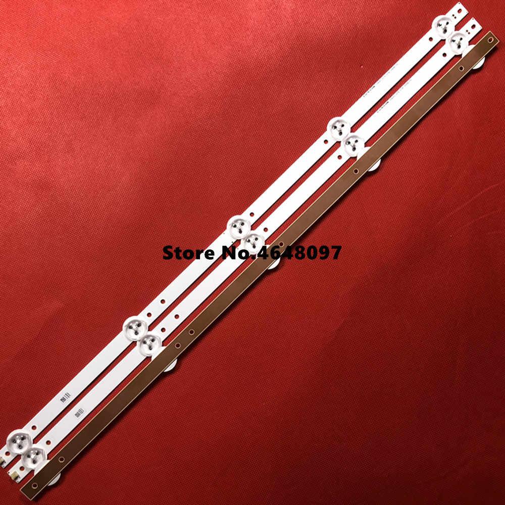 530 мм светодиодный Подсветка полосы для Prol тонкая Бюстгальтер vis 28C2000B 28 дюймов ТВ L2830HD SVJ280A01 REV3 5 светодиодный 130402 M280X13-E1-H