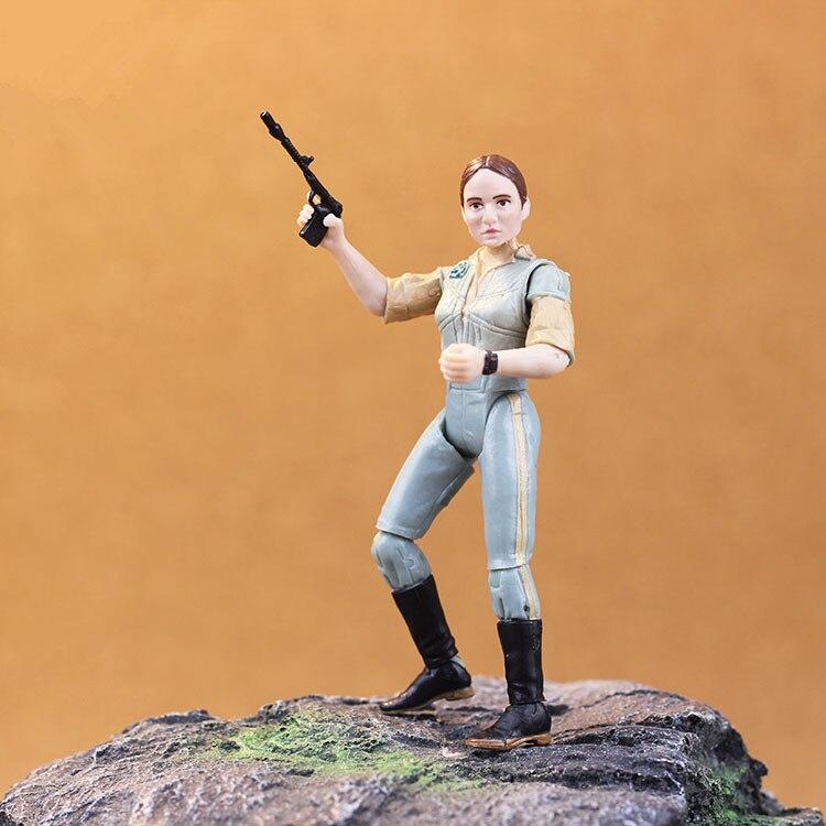 3.75'' Action Figure Star Wars The jungle rebel female Leah Y0986 rebel star hoodie