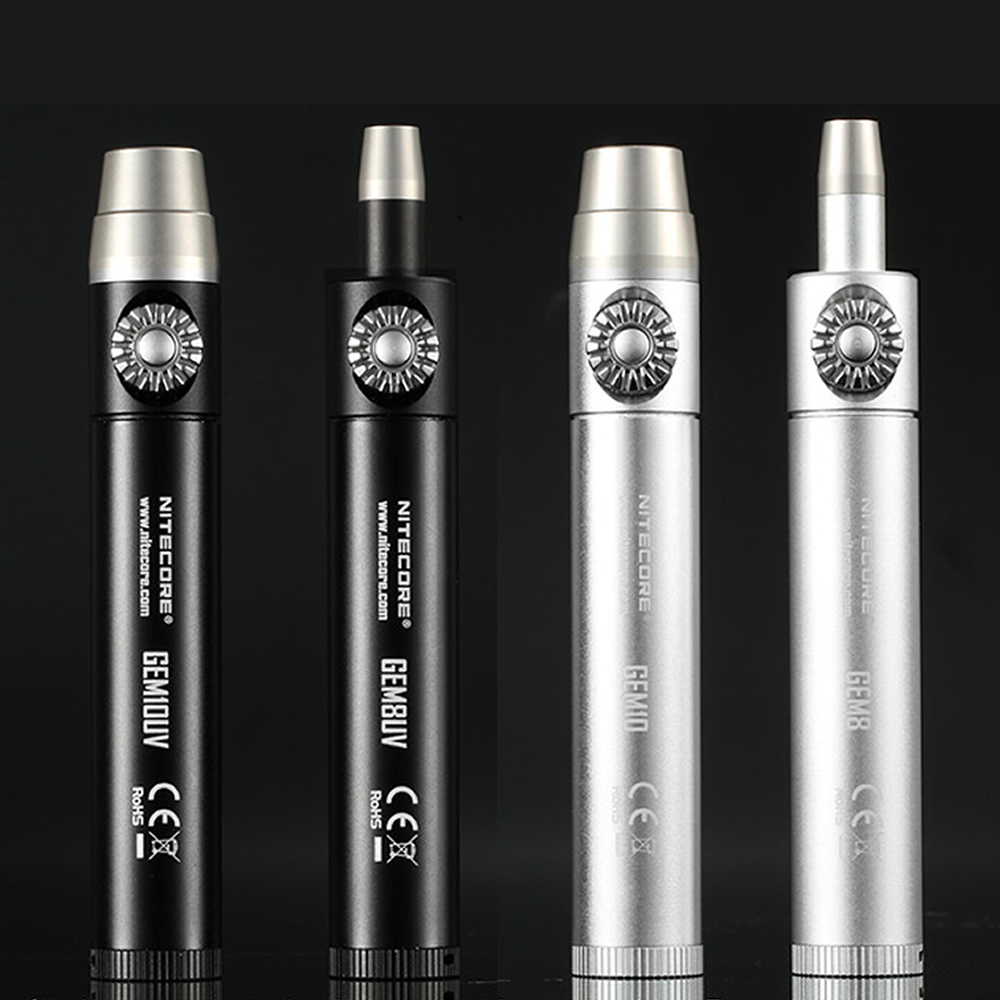 NITECORE GEM10 Jade Jeweler Antique Light 800 LMs CREE XP-L HI V3 LED Gemstone Identification Flashlight Without 18650 Battery
