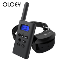 300M Pet Doggy Training Vibration Shock Collar Device Electronic Stop Dog Barking Waterproof and Rechargeable Training Equipment