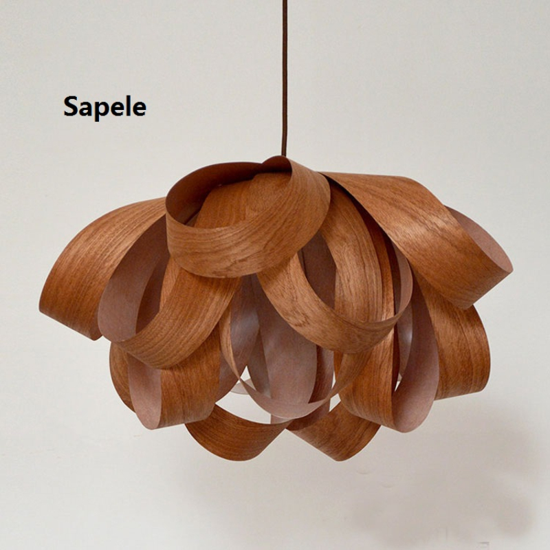 Новый современный деревянный Открытый Подвесные Светильники для Обеденная E27 220 В Кухня кулон Лампы для мотоциклов светильники 110 В дома Осв