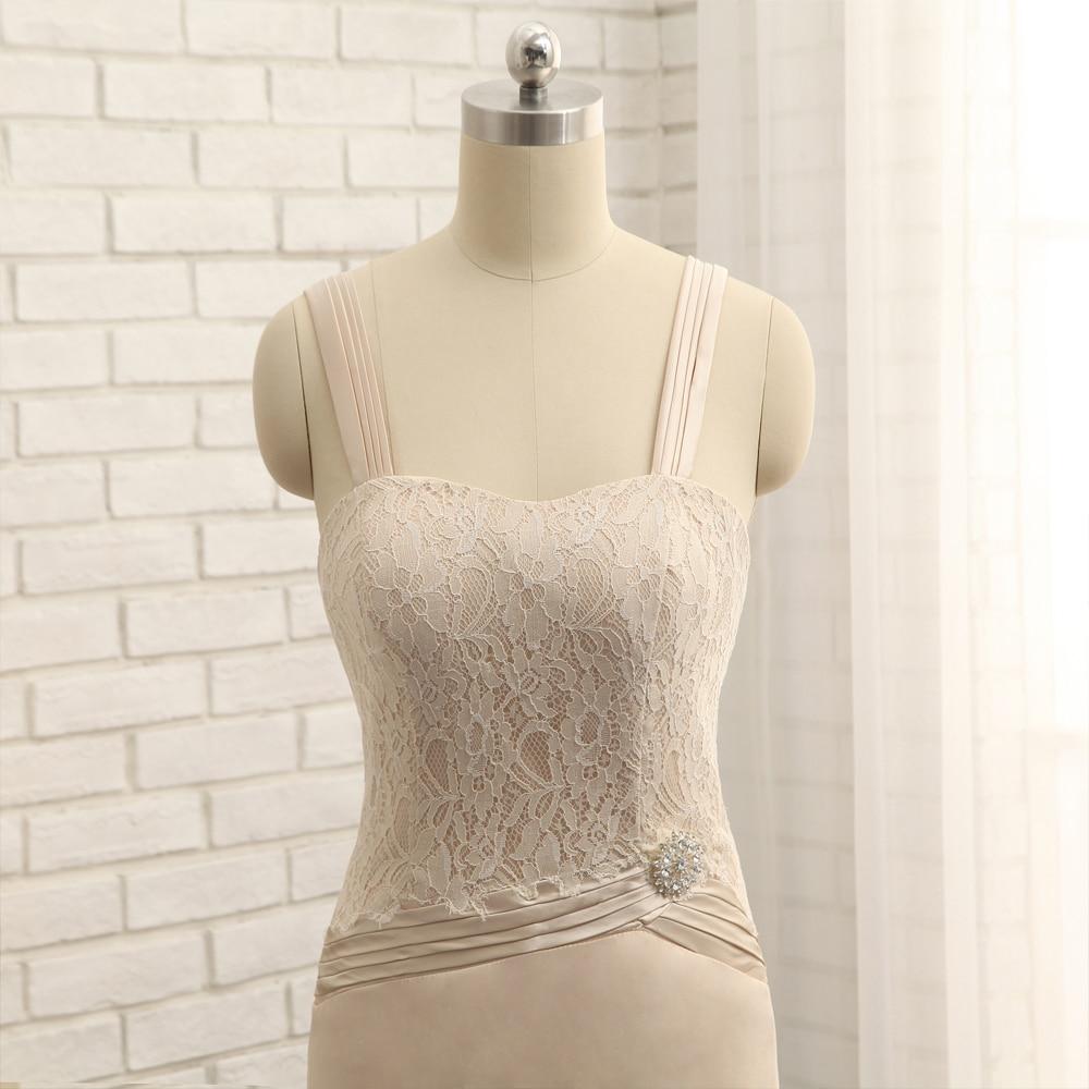 Plius dydis 2019 Nuotakos motinos suknelė Apvalkalo grindų ilgis - Suknelės vestuvėms - Nuotrauka 5