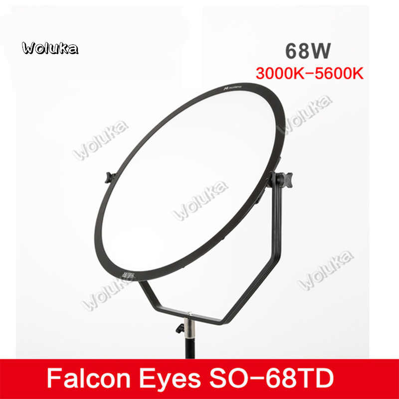Falcon Eyes SO-68TD 68W Soft LED Camera Light Dimmable 3000-5600K Lighting  Photo Video Film Continuous Light CD50 T03