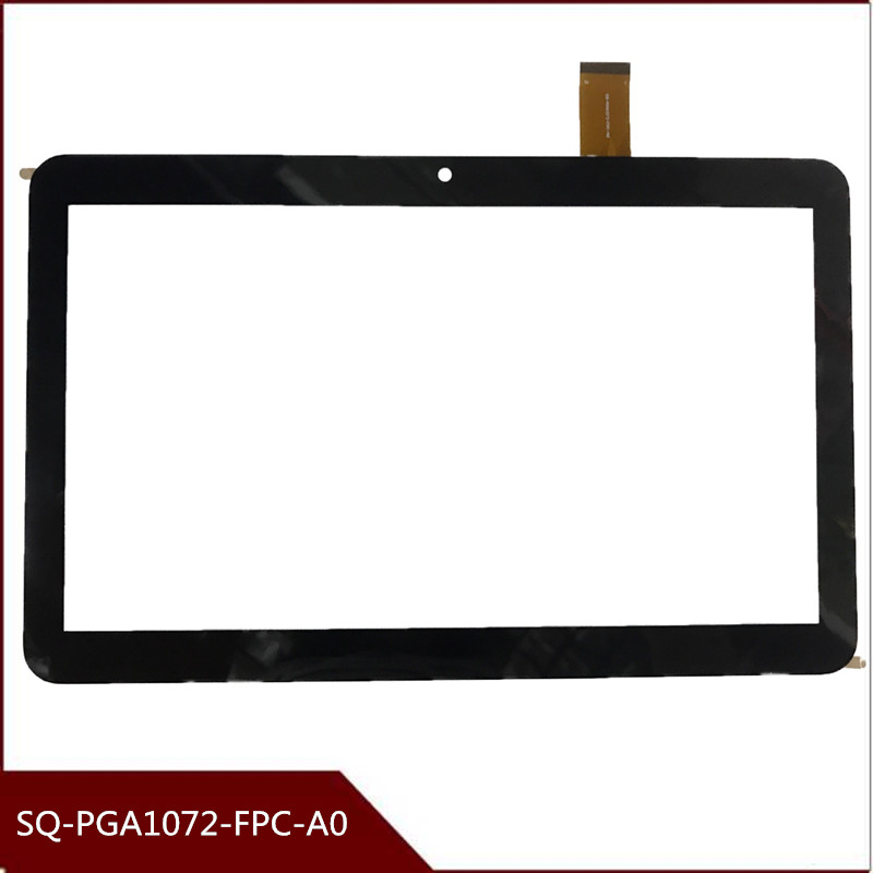 For SQ-PGA1072-FPC-A0 10.1 Inch New Touch Screen Panel Digitizer Sensor Repair Replacement Parts Free Shipping