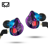 Original KZ ZST Colorful Balanced Armature With Dynamic In Ear Earphone BA Driver Noise Cancelling Headset