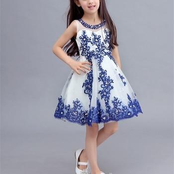 Hot Sale Flower Girl Dresses for Wedding Birthday Party Pageant First Communion Dress New Little Girl Kids/Children Dress