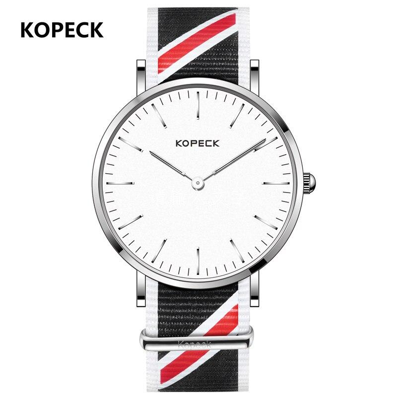 KOPECK font b Men s b font Watches Ultrathin Japanese Movement font b Quartz b font