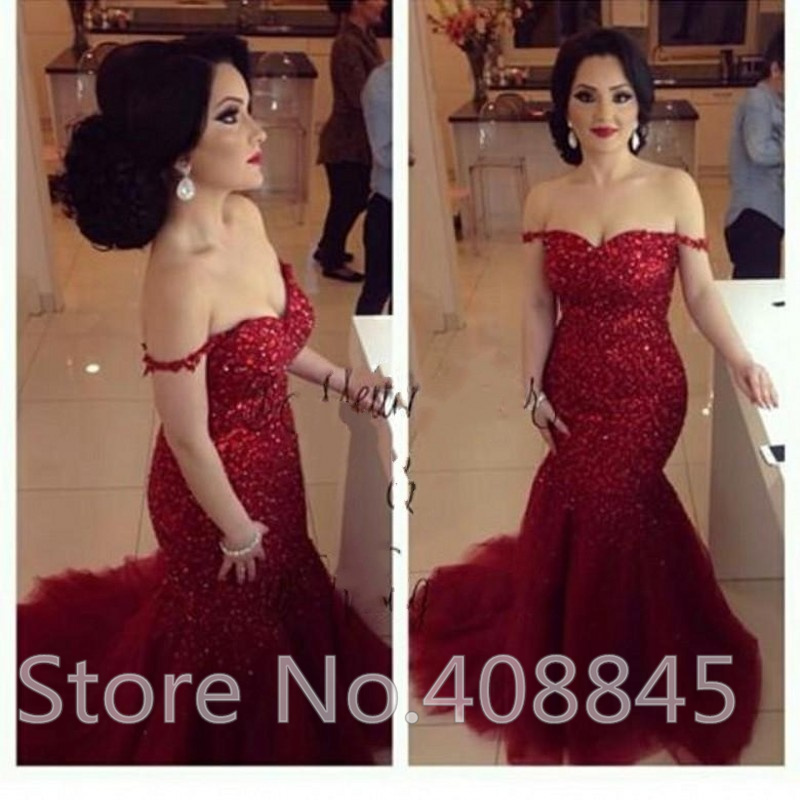 14d7c75ec503 Off Shoulder Red Cheap Long Evening Prom Dresses Cheap