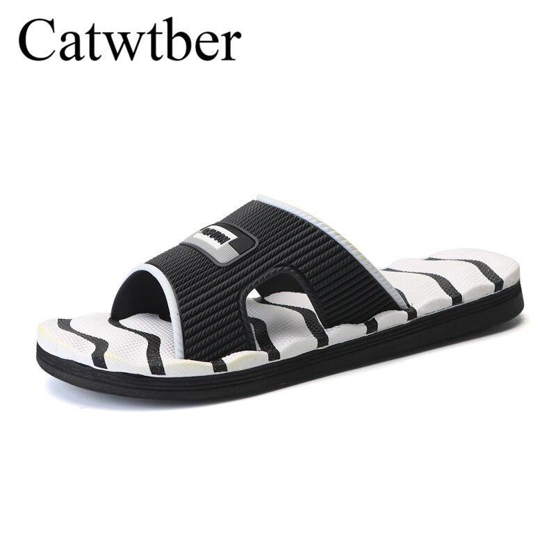 White Plage Chanclas Pantoufles Catwtber Creux Chaussures Flops En Flip Sandalias Hommes Mode Marche Air Plein red black D'été Sneakers OrqwqIaA4