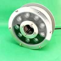 Date 9 W LED lumière sous-marine piscine étang fontaine Aquarium lampe ampoule étanche AC12V IP68 livraison gratuite