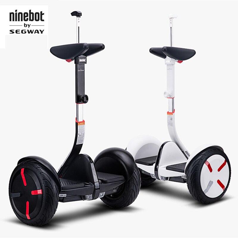 Original Ninebot par Segway Mini Pro intelligent auto équilibrage miniPRO 2 roues scooter électrique hoverboard planche à roulettes pour aller kart