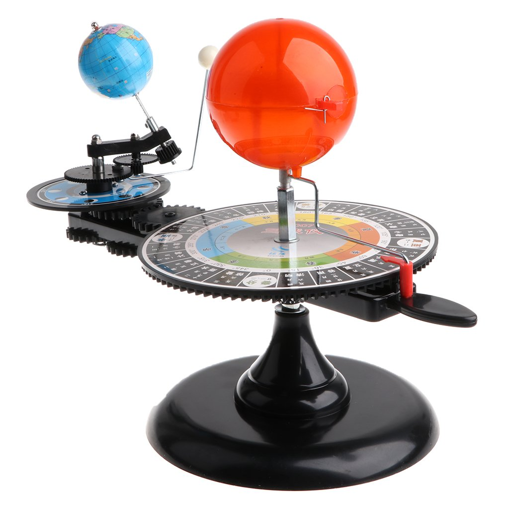 Modèle de système solaire bricolage assemblé Science apprentissage modèle de planétarium éducatif jouets cadeau d'anniversaire pour enfants enfants en bas âge - 4