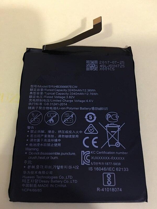 Jinsuli Battery HB356687ECW Honor Huawei 3340mah 2-Plus For NOVA 7x/Bnd-l21/Bnd-l22/..