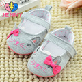 JENNY kid newborn baby girls cartoon cat cotton first walkers infant children soft non-slip soles shoes for baby girls 0-1 years