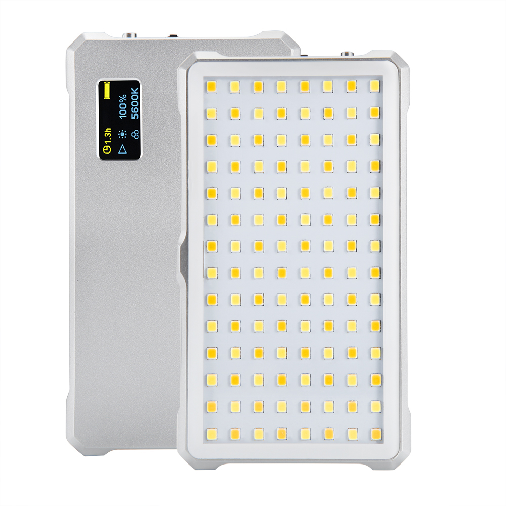 F12 LED photography light Portable LED fill light 3200K 5600K Double color Built in lithium battery Used for photography