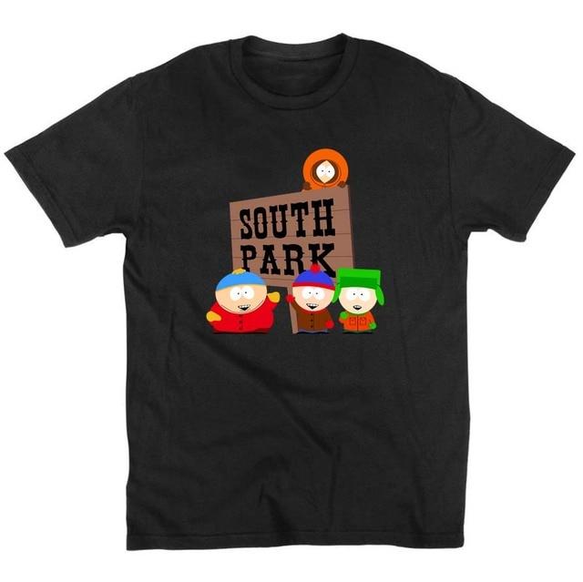 SOUTH PARK TShirt Summer Fashion Cotton 1