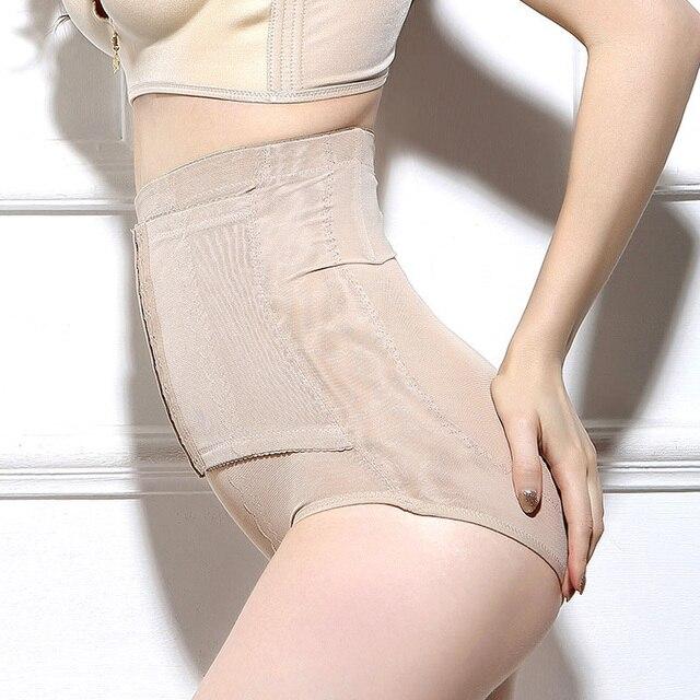 2017 nueva alta cintura shapers butt lifter underwear bragas pantalones del vientre postparto adelgazar en forma de control