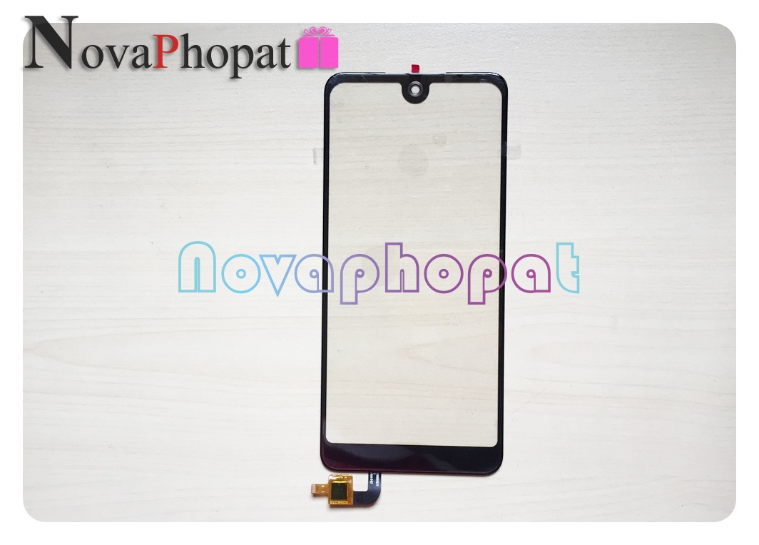 Novaphopat 6.0 inch Black Touchscreen For <font><b>BQ</b></font> <font><b>BQ</b></font>-6015L Universe 6015L Touch Screen Digitizer Screen Replacement + Tracking image