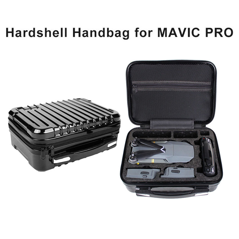 Shoulder Bag For DJI Mavic Pro Accessories Hardshell Waterproof box Suitcase Bag For DJI Mavic Pro RC Quadcopter Drone Bag hobbyinrc drone aircraft part rf v16 gps locator holder for dji mavic pro rc drone accessories