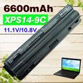 6600 mah batería del ordenador portátil para dell xps 14 15 17 l401x l501x l502x l701x l702x 312-1123 312-1127 j70w7 jwphf r795x whxy3