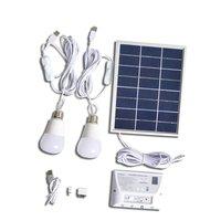 Открытый солнечной энергии светодиодные лампы 5000 мАч емкость батареи мобильного телефона зарядки освещение Открытый Отдых первой помощи т