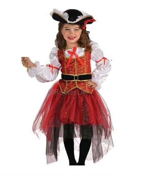 Pirata de Halloween navidad disfraces niñas cosplay fiesta de disfraces para niños de los niños ropa