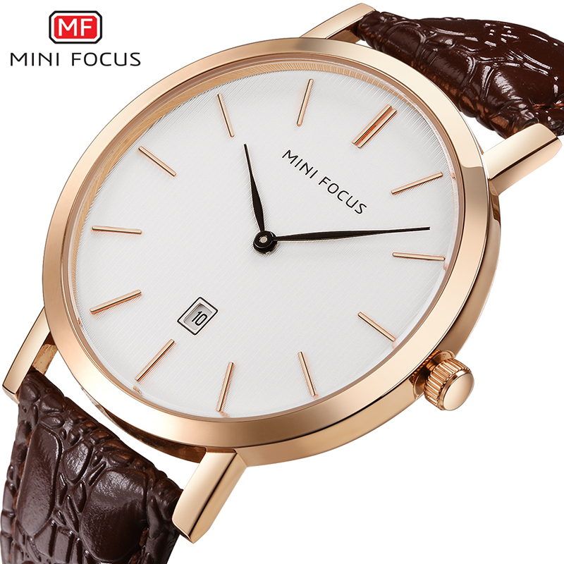 цена на 2018 Fashion Men Calendar Quartz Watch Luxury Leather Male Waterproof Wrist Watches New Simple Style Big Dial Watches Cool Clock