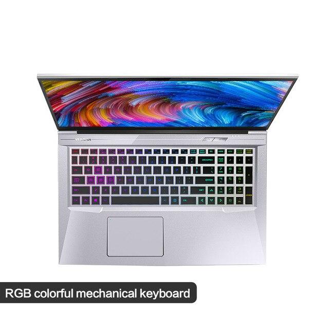 "Gaming Laptop MAIBENBEN X9 Plus/17.3"" i7-9750H/8G RAM/PCI-E 512G/NVIDIA GTX1050 Graphic Card/DOS/Black Game Flash Light Notebook 2"