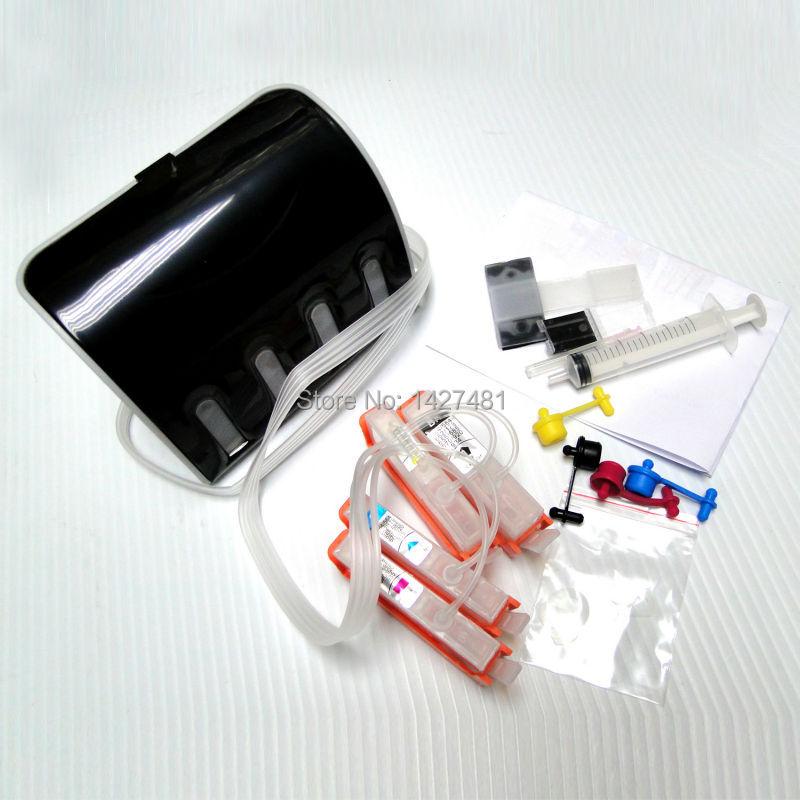 YOTAT 178 CISS ink cartridge for HP178 for HP Deskjet 3070A Photosmart 5510 5515 6510 B109a B209a (Japan/Russia/South Africa) стоимость