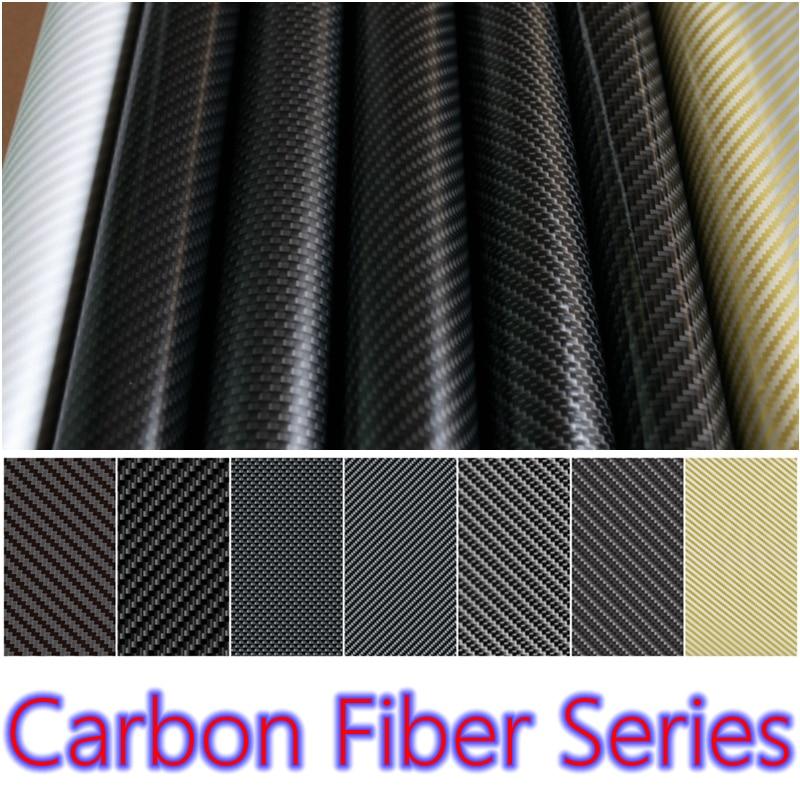 0.5M Penghantaran Percuma Wide KARBON FIBER Pemindahan Filem Percetakan Air Aqua Print Filem Untuk Motosikal / Kereta Hidrografi Filem