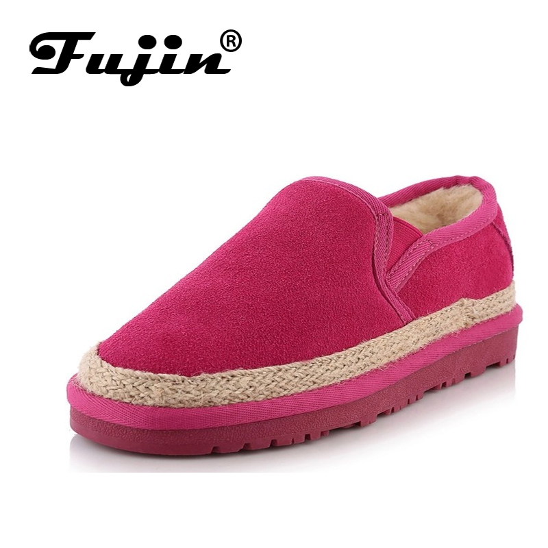 Womens Flats Espadrilles Shoes Feminino Winter New Warm Soft Loafers Tenis Zapatos Inside