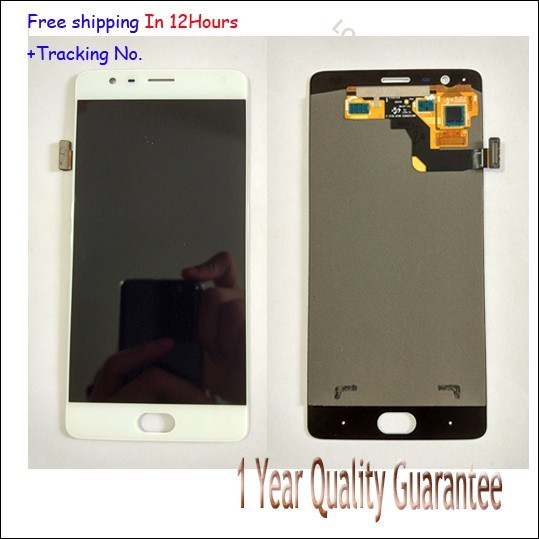 100% Original Warranty  For oneplus 3 LCD Display Touch Screen Digitizer Assembly For Oneplus three A3000  A3003
