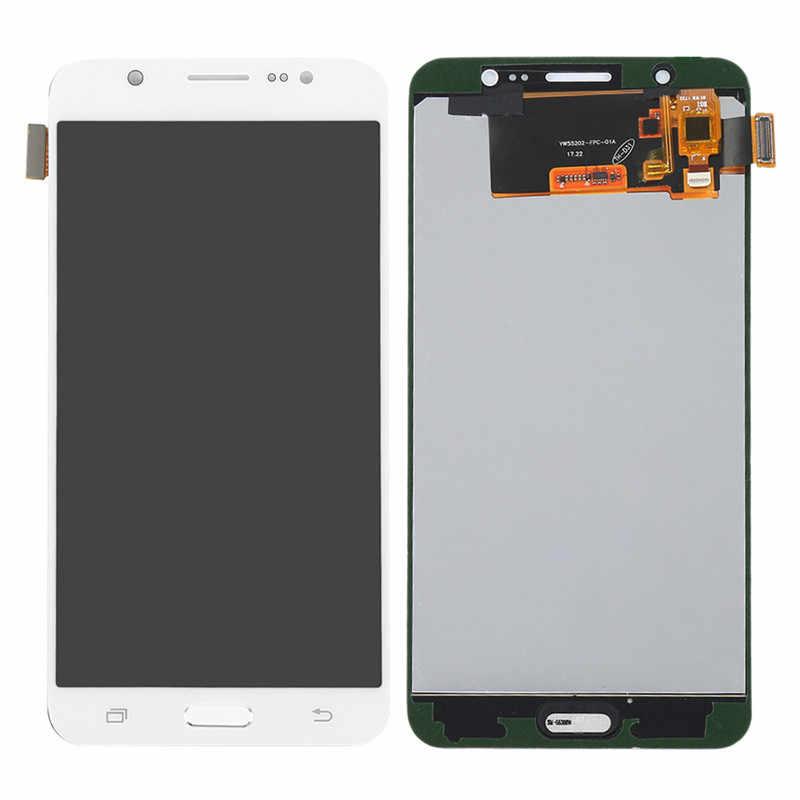 """5.5 """"สำหรับ Samsung J7 2016 lcd J710 J710F/FN J710M J710H จอแสดงผล LCD Touch Screen Digitizer สำหรับ Samsung j7 2016 lcd J710 หน้าจอ"""