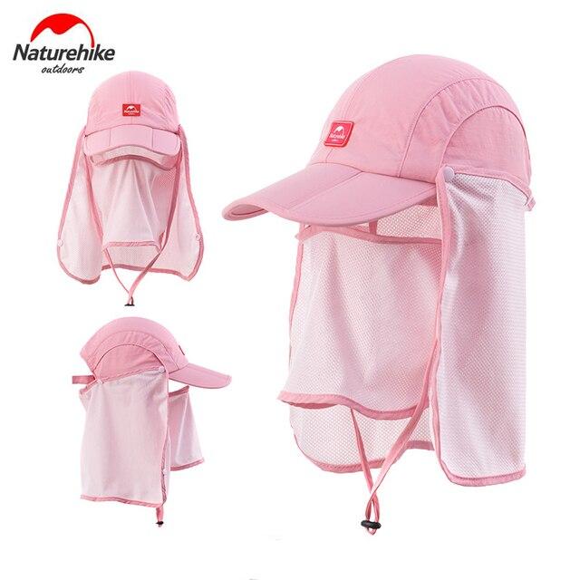 Naturehike Outdoor Unisex Men Women Anti-UV Sun Hat with Face Mask Camping Hiking Fishing Cap with Sun Mask NH12M002-Z 5
