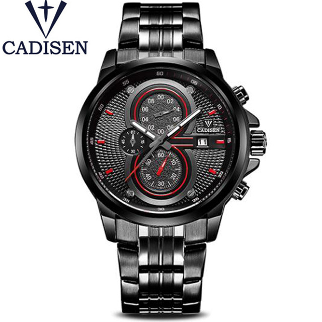 2017 Brand Name CADISEN Men's Watches Pilot