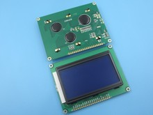 Free shipping 5pcs LCD 12864 128×64 Dots Graphic Blue Color Backlight LCD Display Shield 5.0V