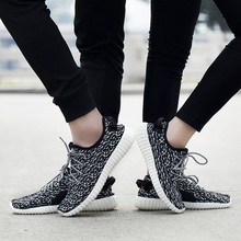 цена на Bonjean New Fashion Men Shoes Hot Sale Couple Footwear Mesh Soft Light Weight Men Casual Shoes Plus Size Summer Men Sneakers