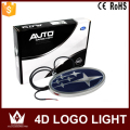 Night Lord For S-ubaru 4D Emblem light lamp 4D led  Back Rear 4D Badge Sticker light LED light 4D led logo light Emblems led