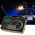 X6 3 Pulgadas Car HUD Head Up Display con la Velocidad Del Motor Sistema de Alerta De Velocidad alarma Car Styling 12 V OBD II OBD2 Interfaz