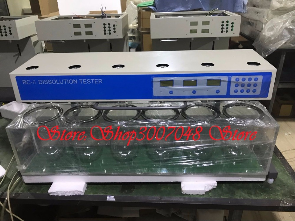 English foreign trade edition Lab Dissolution Tablet Capsule tester RC-3 RC-6 RC-8 110v 220v image