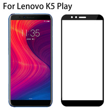10D 9H Full Cover Black Tempered Glass For Lenovo K5 Play L38011 HD Screen Protector For Lenovo K5 Play Protective Film Glass megalight xfwl 10d black