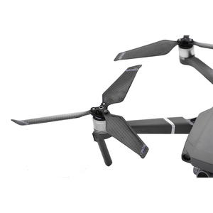 Image 3 - 4 adet 8743F karbon Fiber pervane DJI Mavic 2 Pro Zoom Drone 3 bıçak katlama bıçak sahne Mavic 2 yedek pervane parçaları