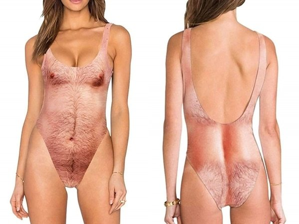 Hairy Swimsuit