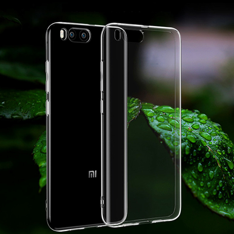 For Xiaomi MI 9 mi 8se A2 lite MAX 3 A1 5X 6X note 3 mix 2s mi 5s plus case Ultra thin Clear Silicone TPU Shock protective cover in Fitted Cases from Cellphones Telecommunications