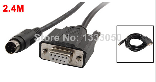 RS232 to Min Din 9P Industrial Adapter PLC Cable 2.4M for Digital GP Proface paul carrack london